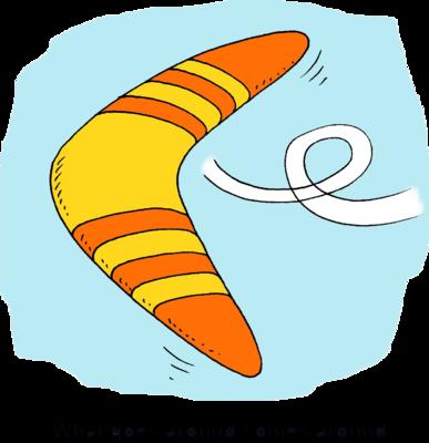 0 Boomerang Clipart.