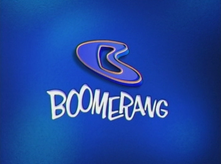 Boomerang from cartoon network Logos.