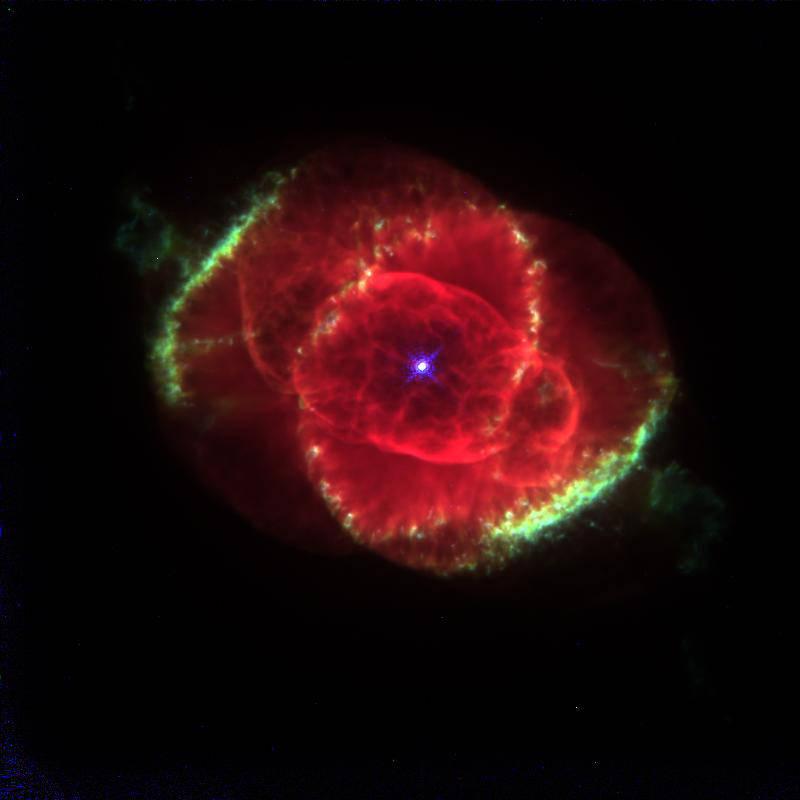 Cat's Eye Nebula.