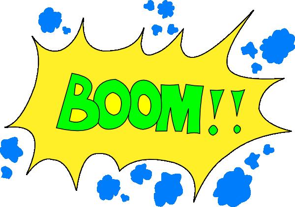 Comic Boom! Clip Art at Clker.com.