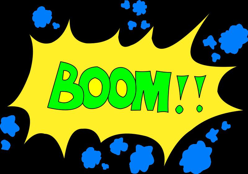 Boom Clip Art Download.