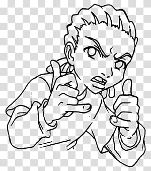 The Boondocks transparent background PNG cliparts free.