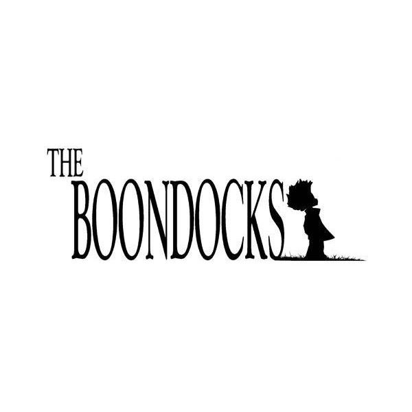 The Boondocks Logo ❤ liked on Polyvore featuring quotes.