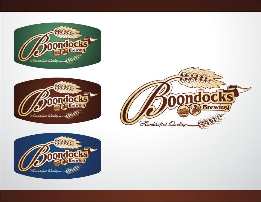 logo for Boondocks Brewing.