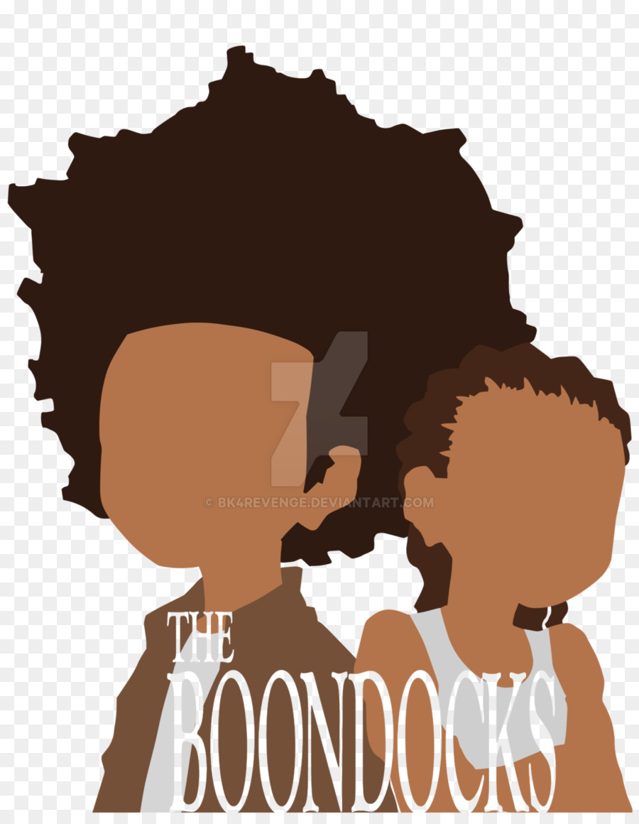 Huey Freeman Silhouette png download.