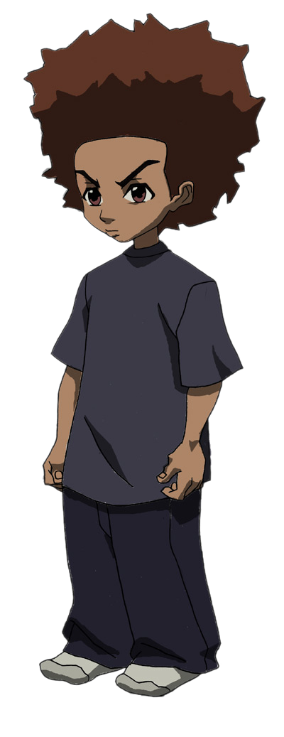 Cartoon Characters: The Boondocks (PNG).