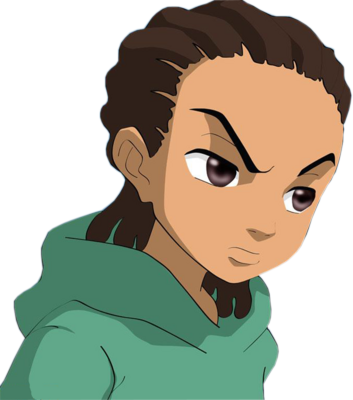 Download Free png Boondocks riley psd53179.png.