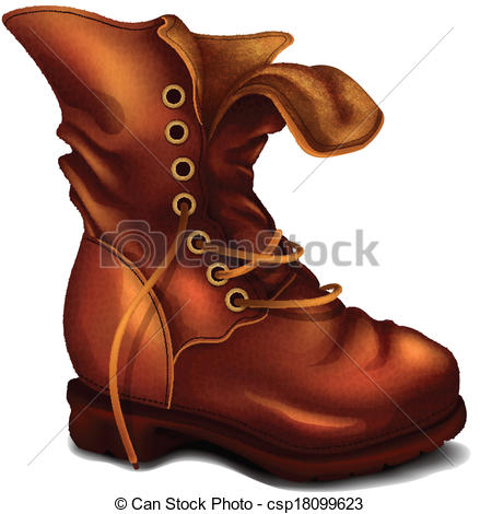 Old Boot Clipart.
