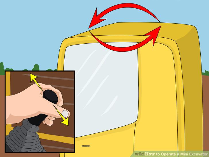 How to Operate a Mini Excavator (with Pictures).