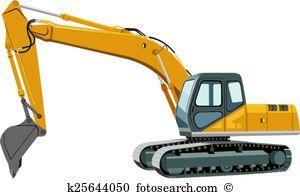 Excavator bucket Clipart Royalty Free. 807 excavator bucket clip.