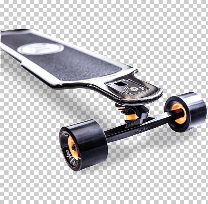 Electric Skateboard Carbon Electricity Evolution PNG.