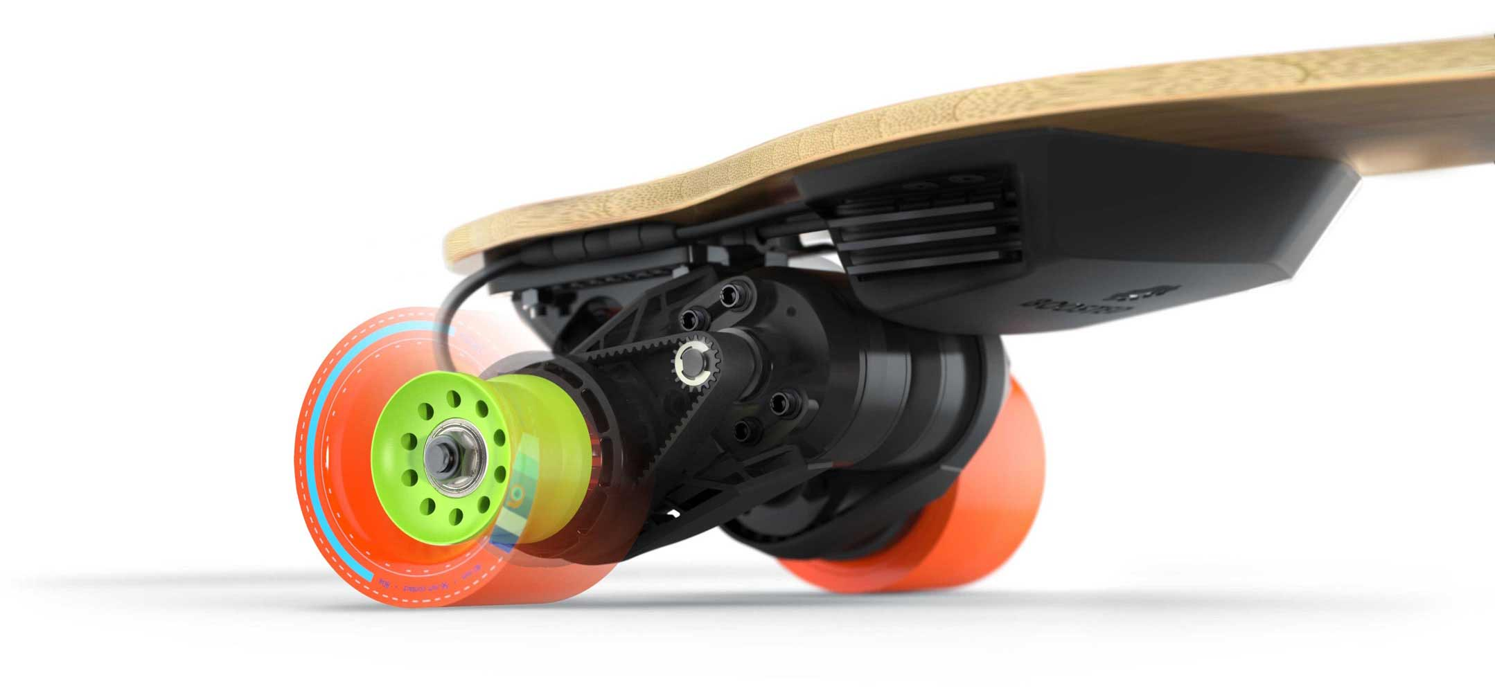 How Boosted Electric Skateboards Get Their Power.