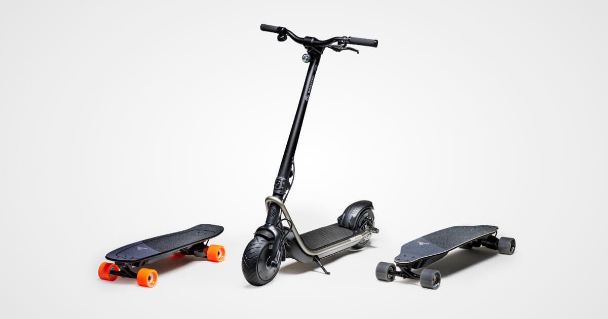 Boosted Boards: The Best Electric Skateboards, Longboards & Scooters.