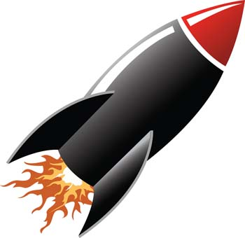 Launch Clipart.