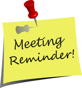Meeting Scheduled for Monday.