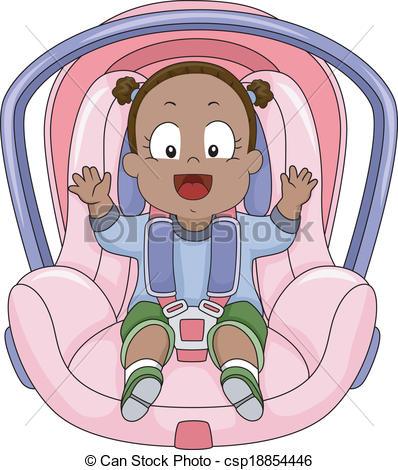 Baby Girl Car Seat.