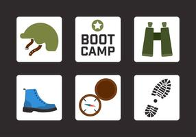 Boot Camp Free Vector Art.