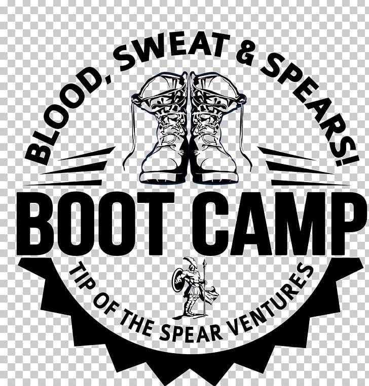 Fitness Boot Camp Logo Tip Of The Spear Ventures LLC Brand.