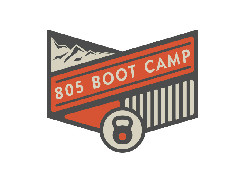 805 Boot Camp Logo by Rob Brink on Dribbble.