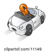 Clipart 3d Boot Lock On A Green Car.