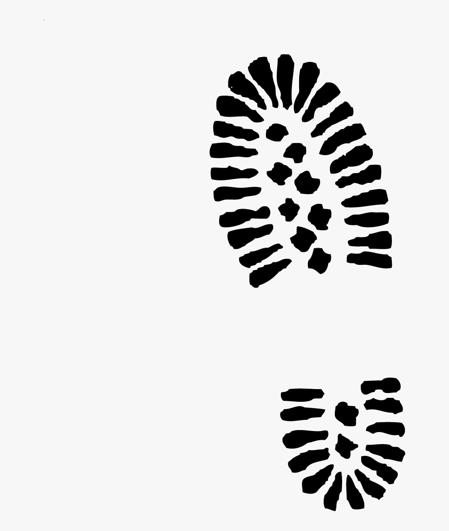 Footprint Clipart Army Boot Pencil And In Color Vintage.
