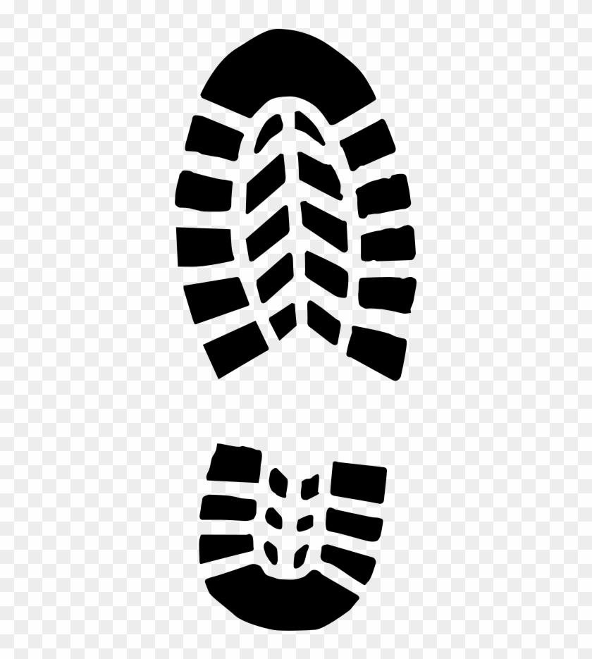 Sneaker Footprint Hd Image Clipart.