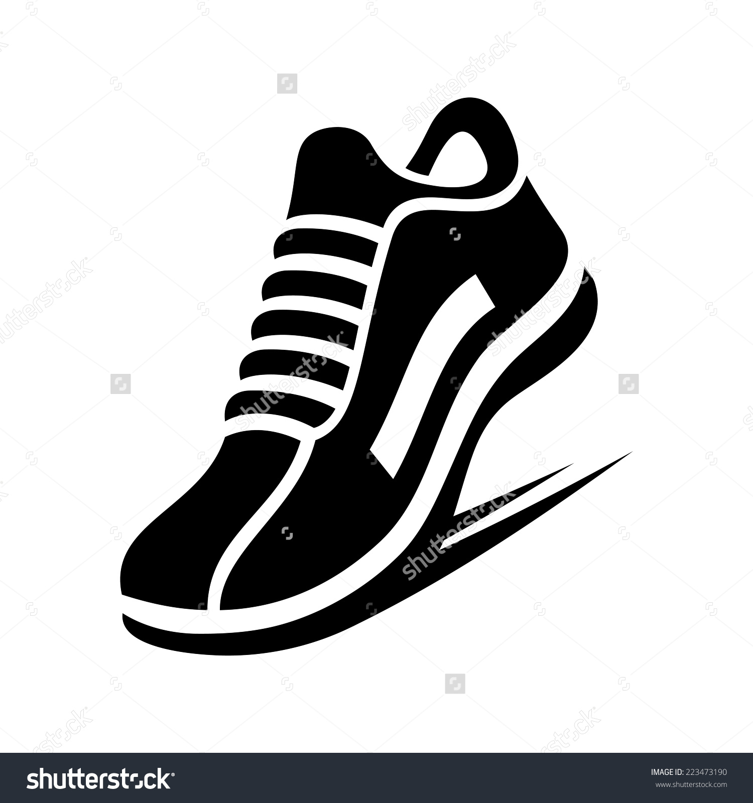 boot print clipart no background #8