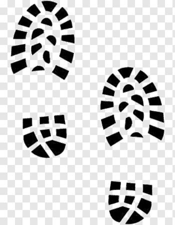 Shoe Prints cutout PNG & clipart images.