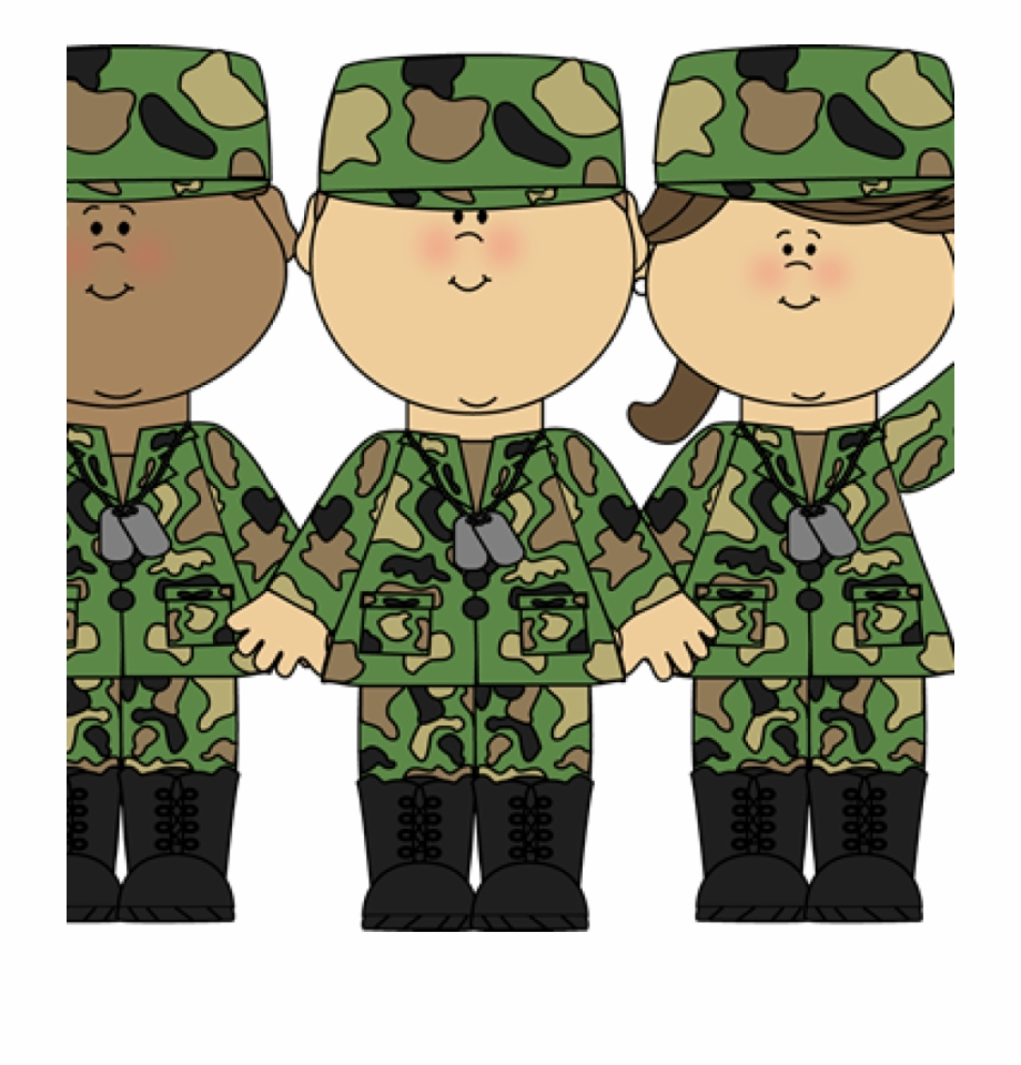 Soldiers Vector Miltary.