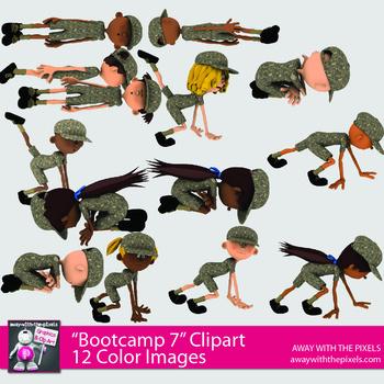 PE Fitness Clip Art.