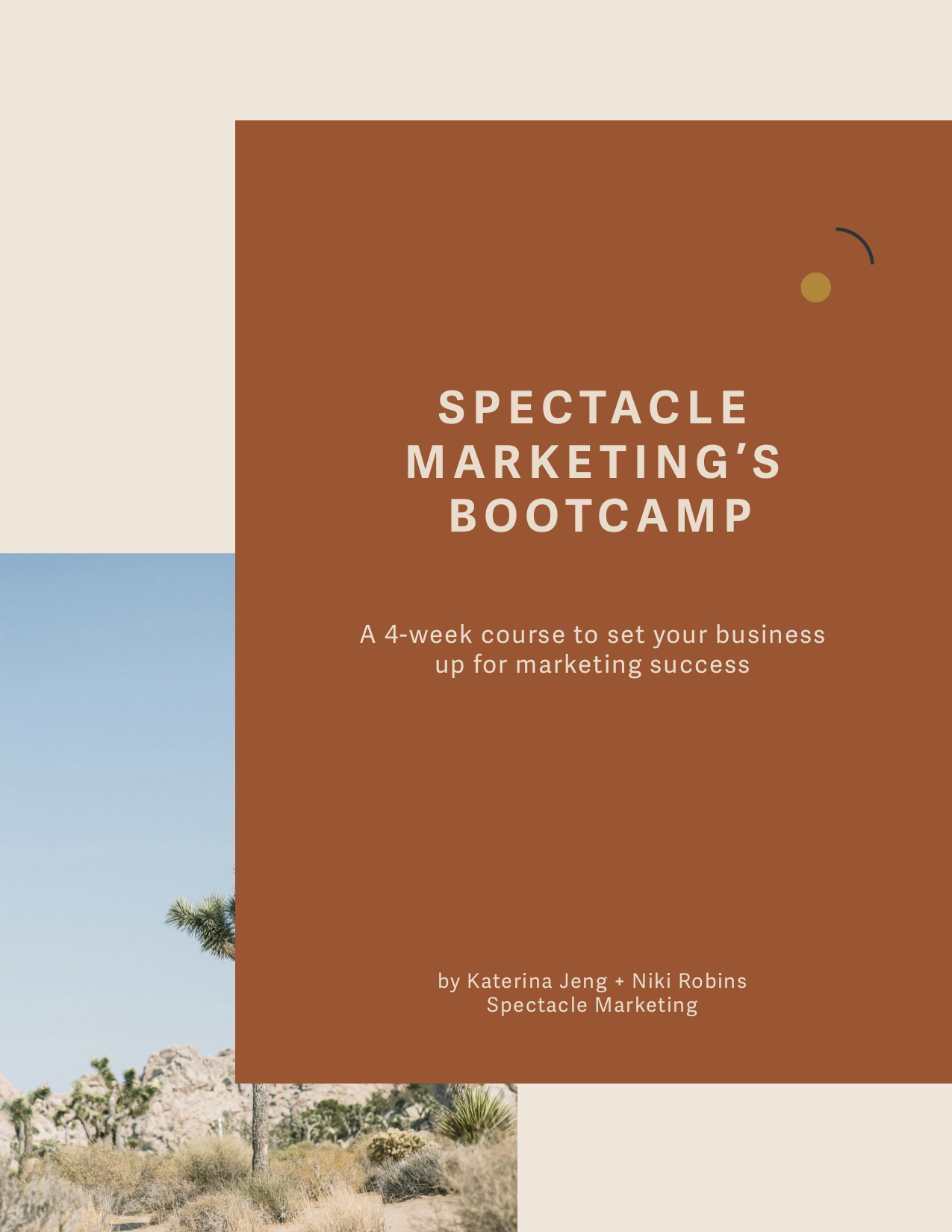 Spectacle's Marketing Bootcamp for Solopreneurs — Spectacle Marketing.