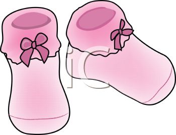 Bootee clipart.