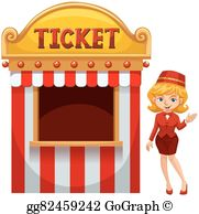 Ticket Booth Clip Art.