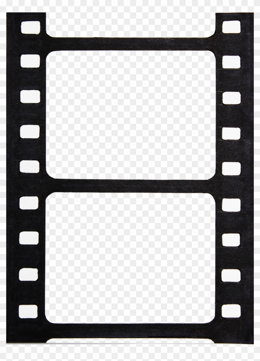 Printable Photo Booth Film Strip Template , Png Download.