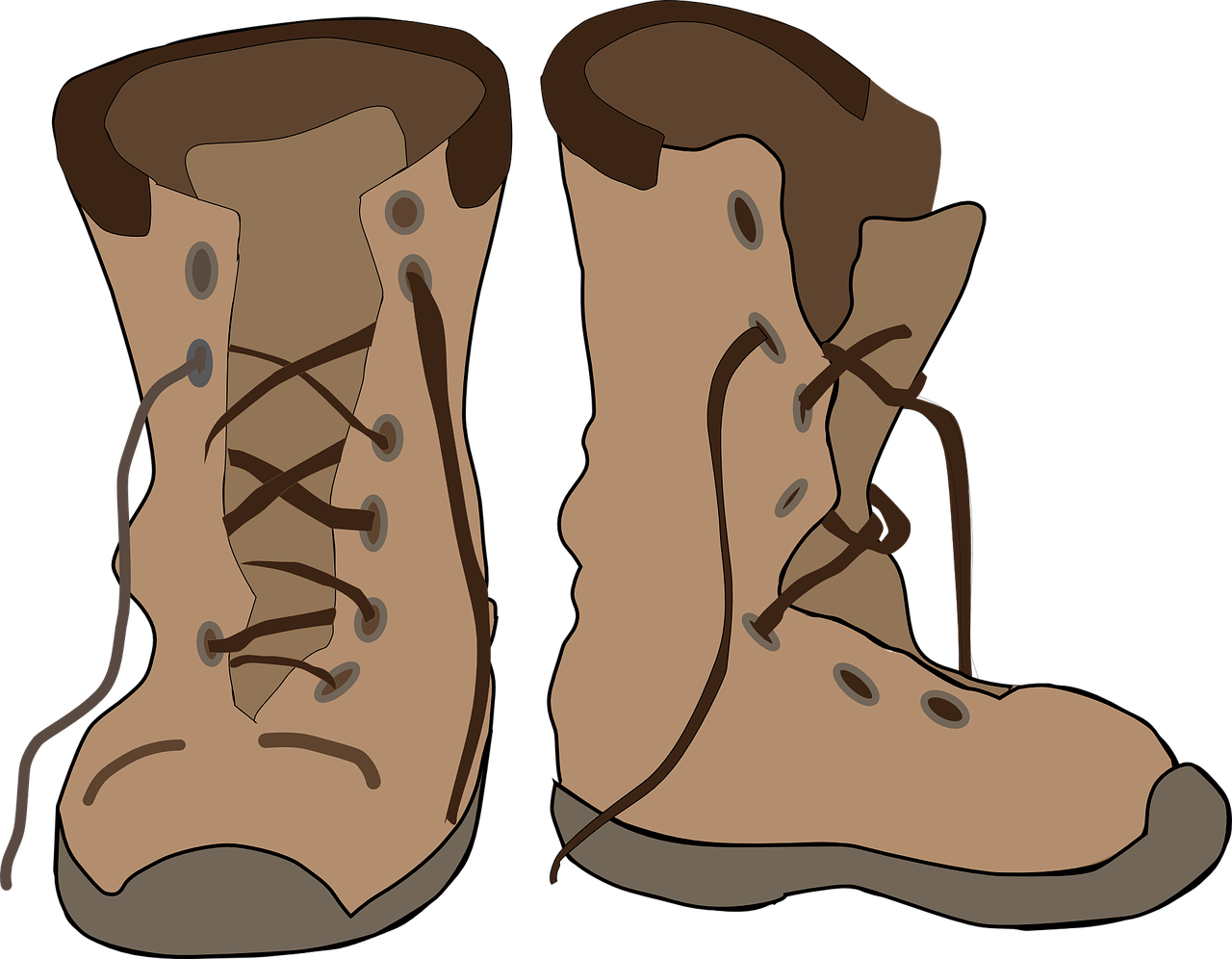 Free to Use & Public Domain Boots Clip Art.