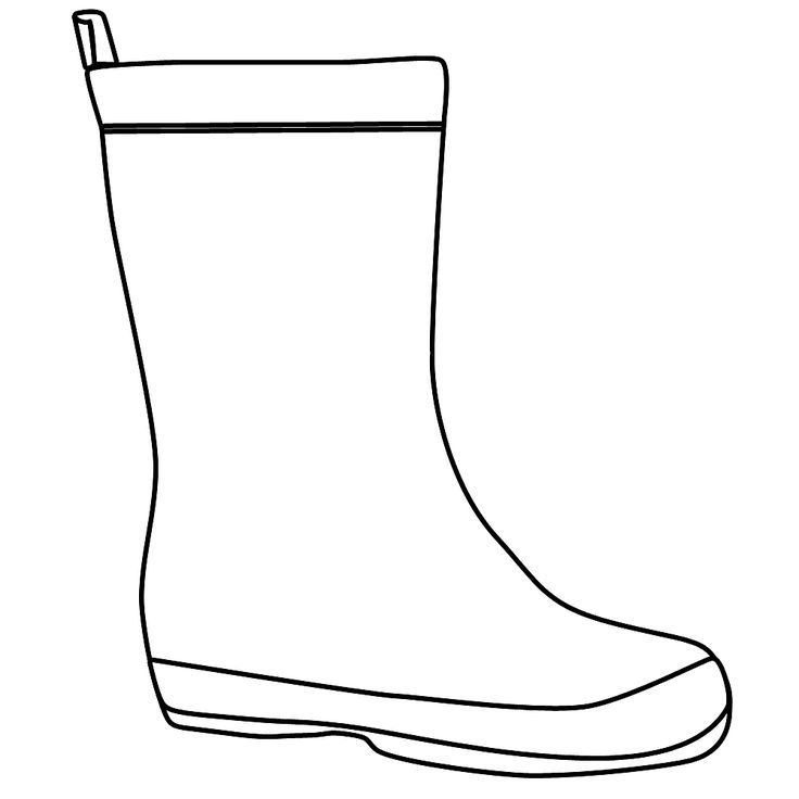 Clipart black and white boots 6 » Clipart Portal.