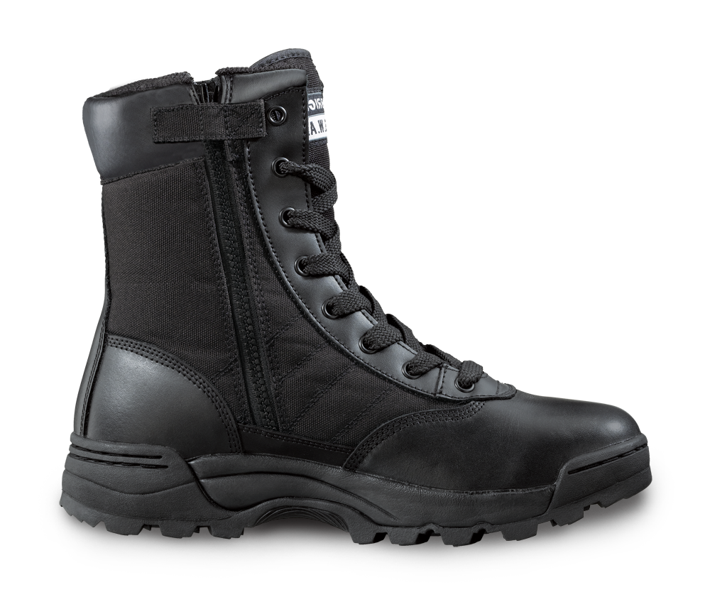 Sublite Cushion Tactical boots PNG Image.