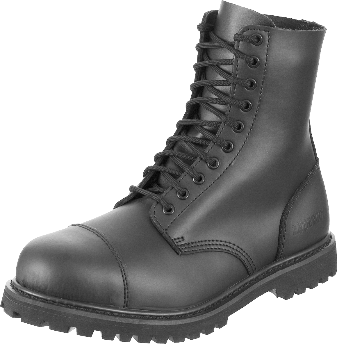 Black army Boots PNG Image.