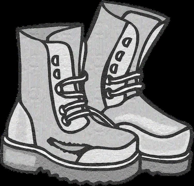 Walking, Boots.