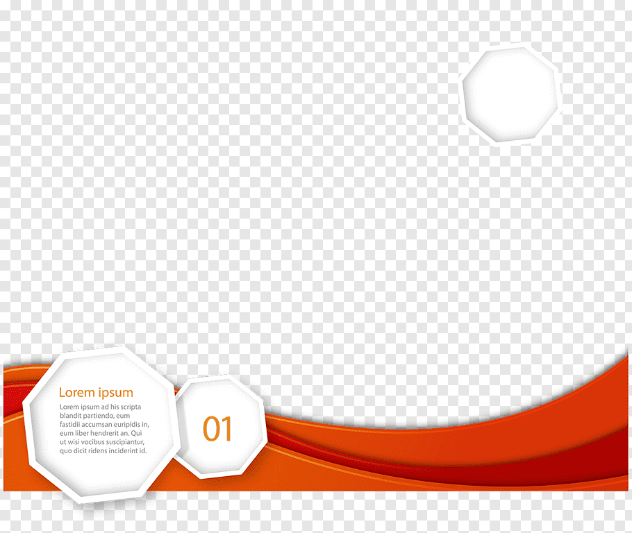 White and red illustration, Euclidean Logo Template.