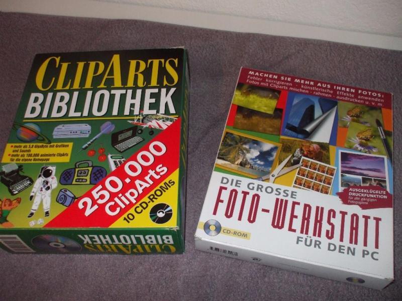 Cliparts Bibliothek Fotowerkstatt in Baden.