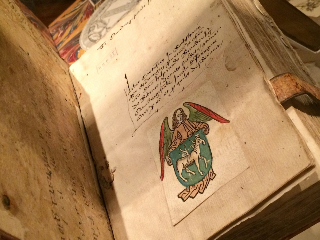 Heraldry: The Oldest Known Printed Bookplate.