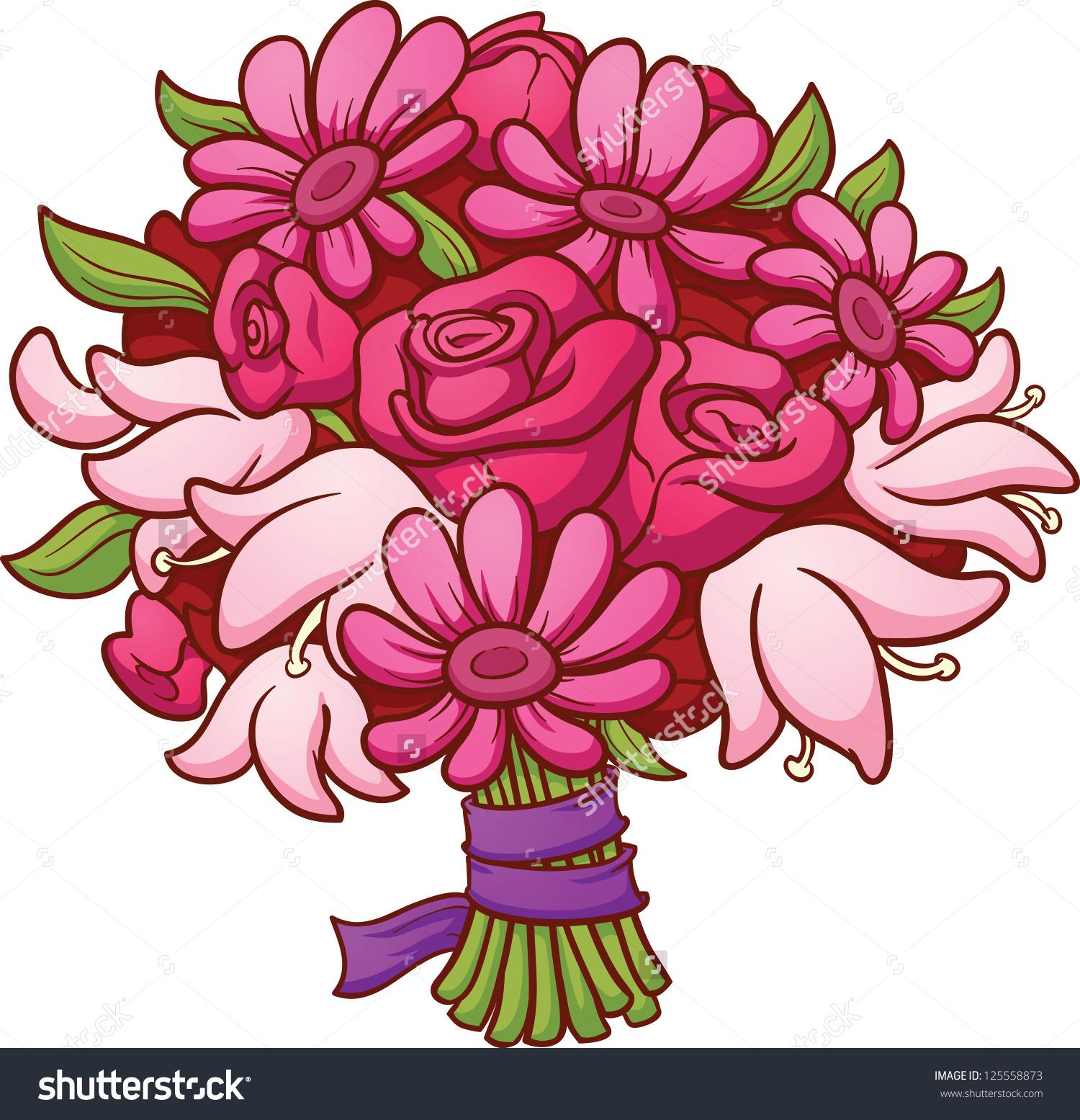 Clipart bouquet.