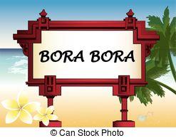 EPS Vectors of Bora Bora.