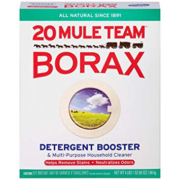 Amazon.com: 20 Mule Team Borax Natural Laundry Booster, 65.