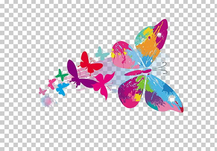 Butterfly A Cor Da Borboleta PNG, Clipart, Animals, Blue, Colored.