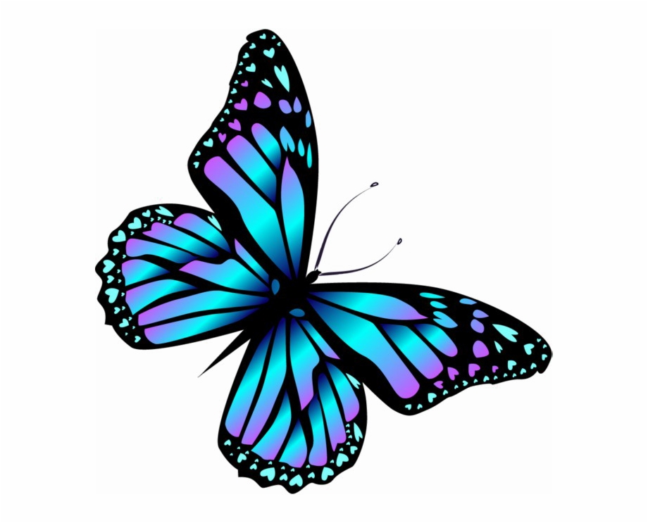 Blue Butterfly Png High.