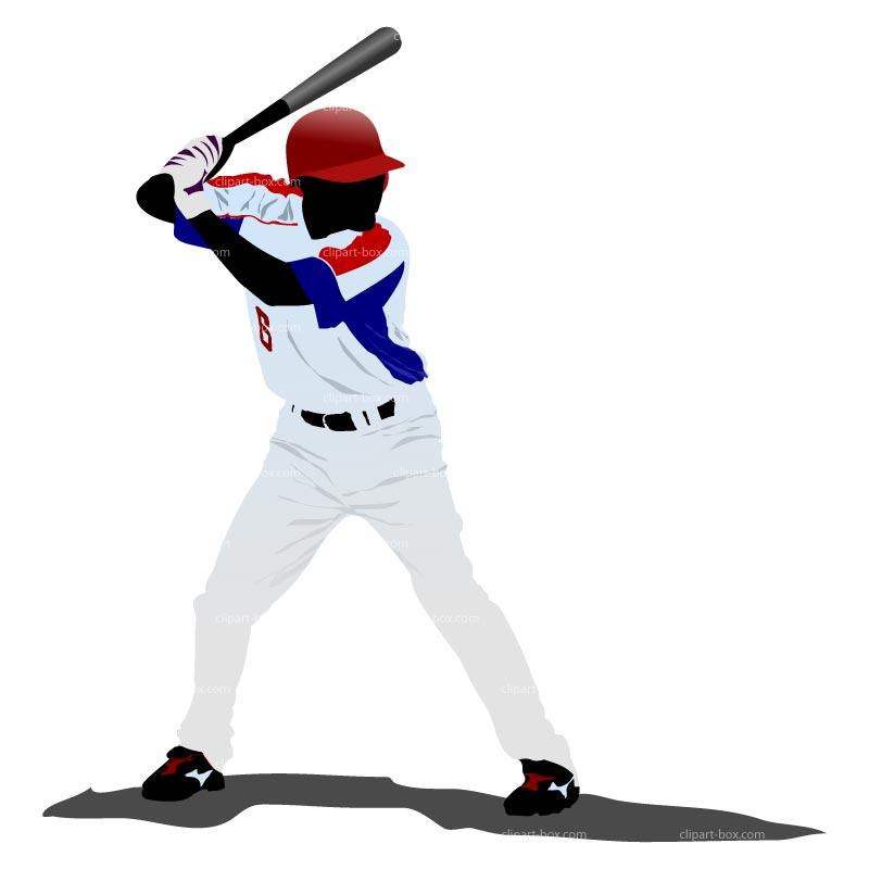 Baseball Pitcher Clipart.