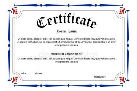 Borda certificado Fotografias de Banco de Imagens, Imagens Livres de.