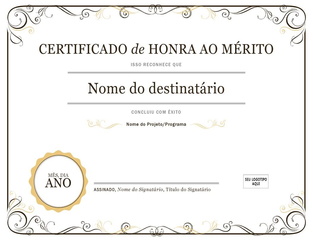 Certificados.